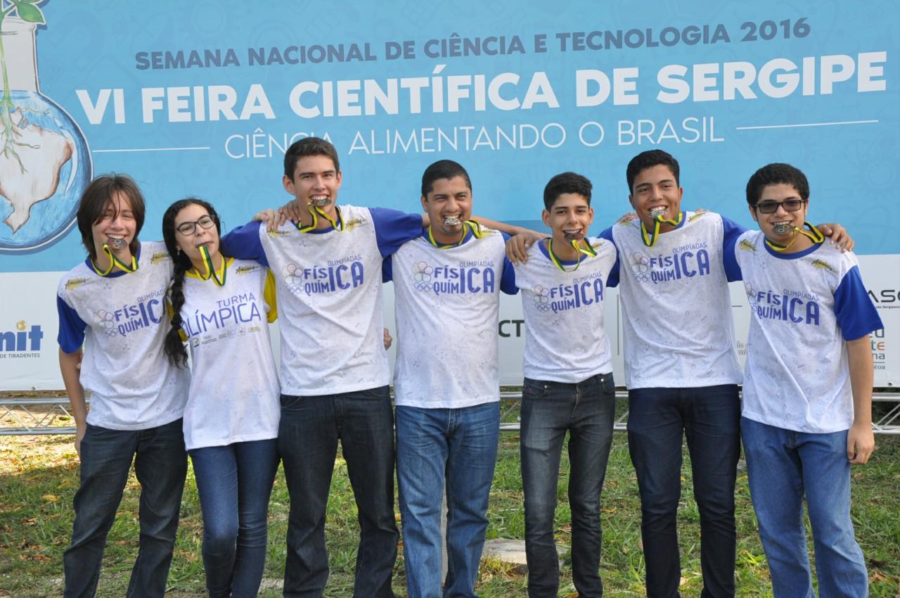 PREMIAÇÃO DA OLIMPÍADA BRASILEIRA DE FÍSICA - OBF